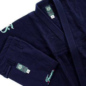FENOM BAMBOO COTTON SHASHIKO WEAVE GI - NAVY BLUE